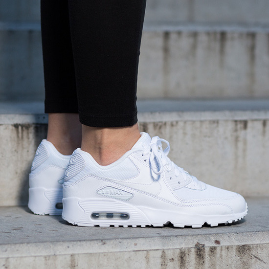 Damen Schuhe sneakers Nike Air Max 90 Mesh (GS) 833418 100