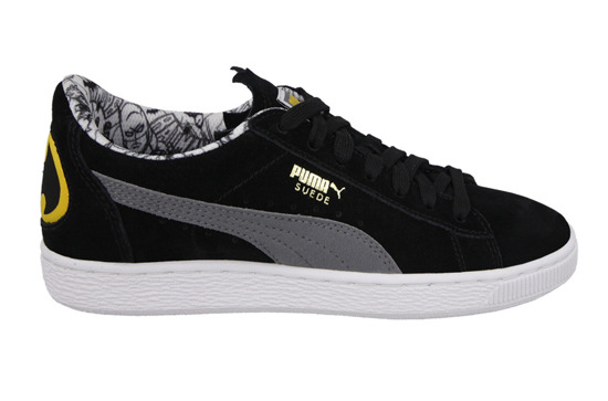 Damen Schuhe sneakers Puma Suede Batman Jr 361254 01