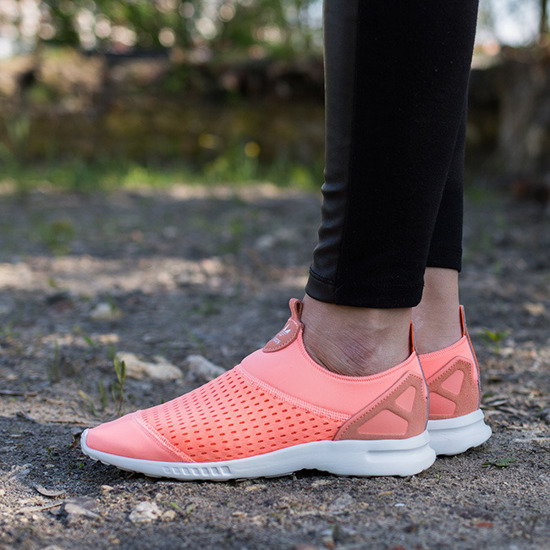 Damen Schuhe sneakers adidas Zx Flux Adv Smooth Slip On S75740