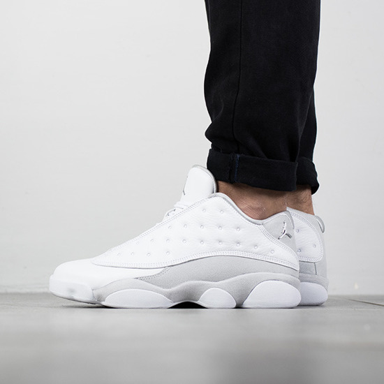 "Herren Schuhe sneakers Jordan 13 Low ""Pure Money"" 310810 100"