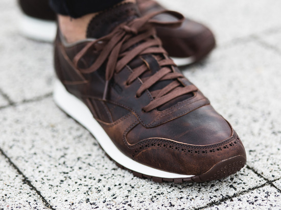 Reebok Classic Leather Horween theater