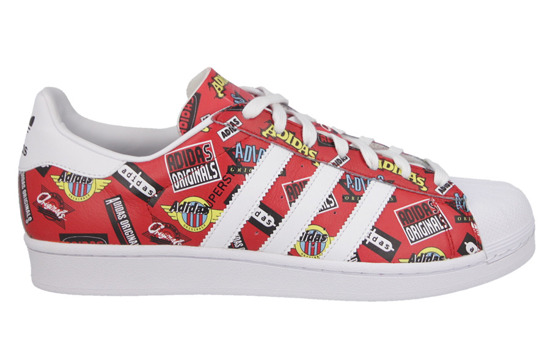Herren Schuhe sneakers adidas Originals Superstar Nigo AOP Allover Print S83388