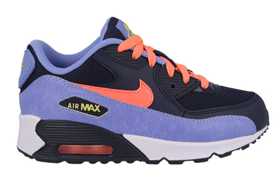 Kinder Schuhe sneakers Nike Air Max 90 Mesh (PS) 724856 408