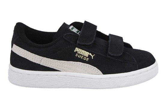 Kinder Schuhe sneakers Puma Suede 2 Straps Kids 356274 01