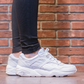 DAMEN SCHUHE SNEAKERS PUMA R698 CORE LEATHER 360601 01