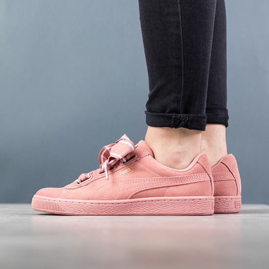 puma basket schuhe damen satin