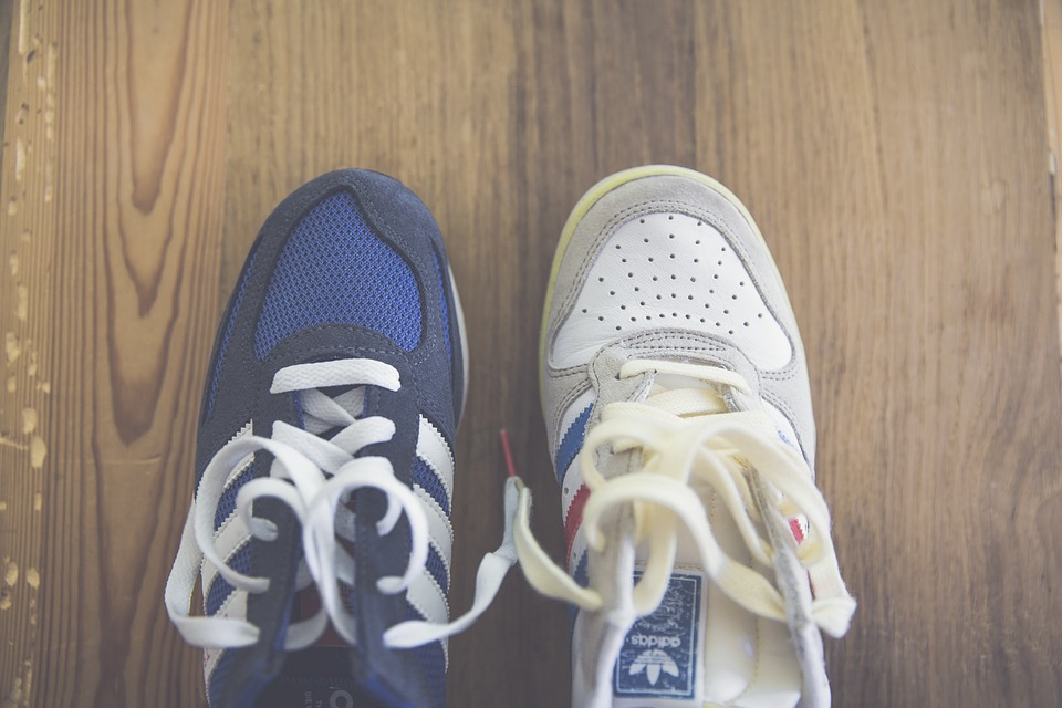 Retro, Sneakers im Oldschool-Stil