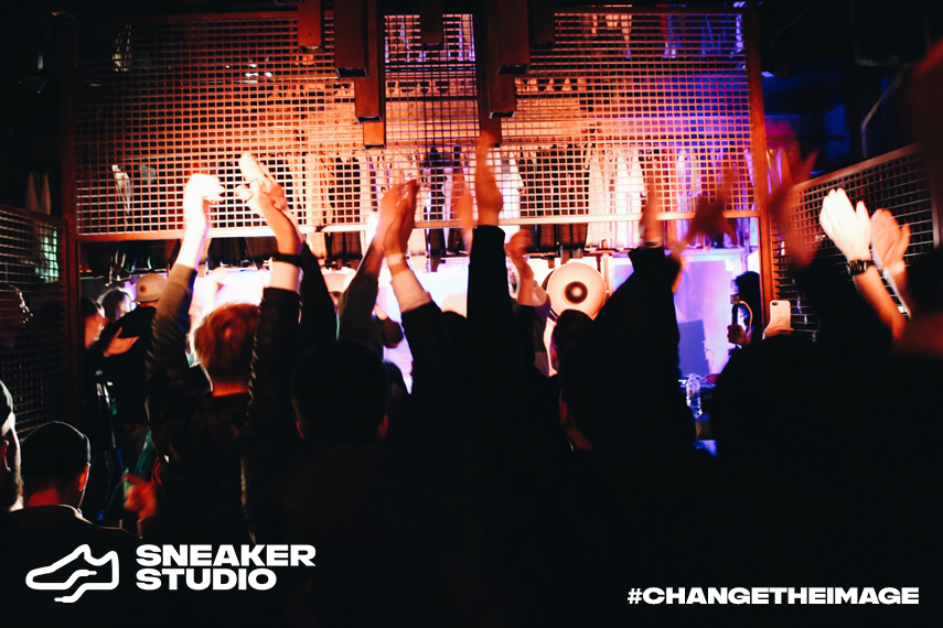 SneakerStudio New Look Party #ChangeTheImage