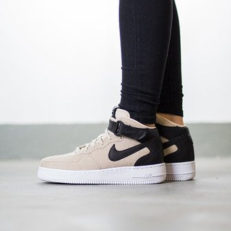 Damen Schuhe sneakers Nike Air Force 1 '07 Mid Leather Premium 857666 001