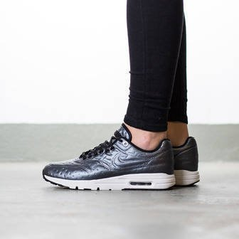 "Damen Schuhe sneakers Nike Air Max 1 Ultra Premium Jacquard ""Dark Grey"" 861656 001"
