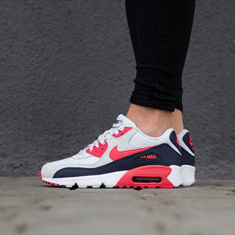 Damen Schuhe sneakers Nike Air Max 90 Mesh (GS) 833340 005