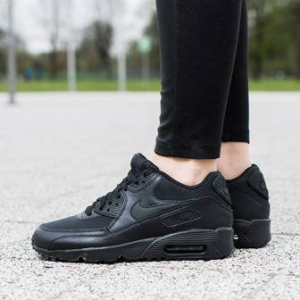 Damen Schuhe sneakers Nike Air Max 90 Mesh (GS) 833418 001