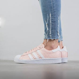 "Damen Schuhe sneakers adidas Originals Superstar 80s ""Icey Pink"" BY9073"