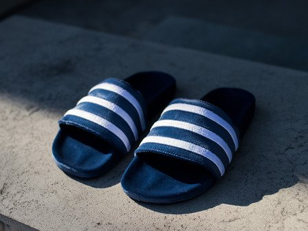 "Herren Flipflops adidas Originals Adilette ""Mystery Blue"" BY9908"