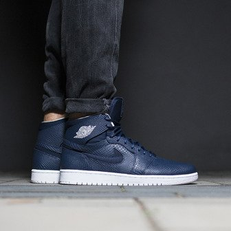 Herren Schuhe sneakers Air Jordan 1 Retro High Nouveau 819176 407