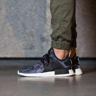 "Herren Schuhe sneakers adidas Originals NMD_XR1 ""Duck Camo Pack"" Core Black BA7231"
