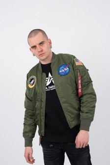 Herren jacke Alpha Industries Ma 1 Vf Nasa 166107 01