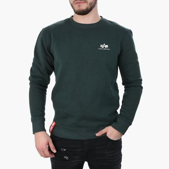 Herren sweatshirt Alpha Industries Basic Sweater Small Logo 188307 353