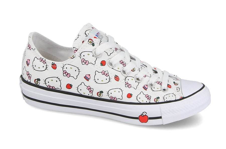 Converse Chuck Taylor AS x Hello Kitty 163916C | WEIβ | für