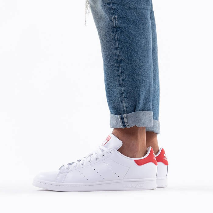 Stan Smith Adidas Rot Damen
