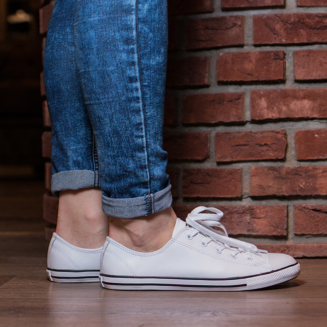 Converse Women S Ct Ox Shoes White