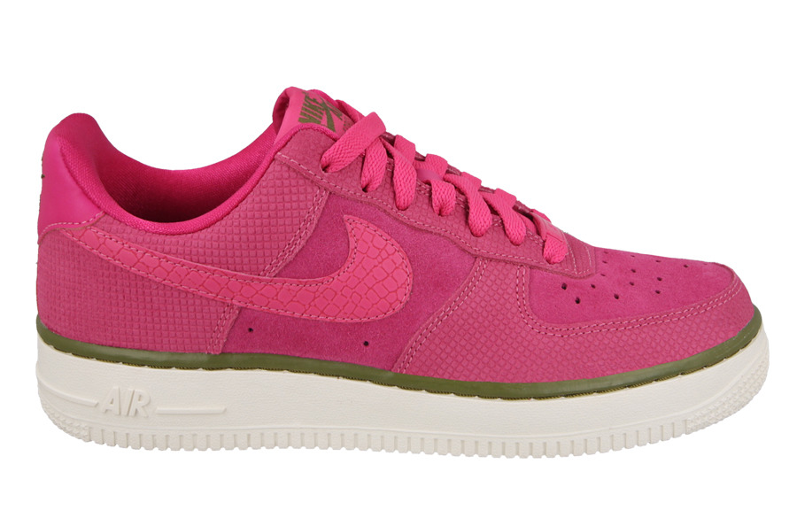 Damen Schuhe sneakers Nike Air Force 1 '07 Suede 749263 601