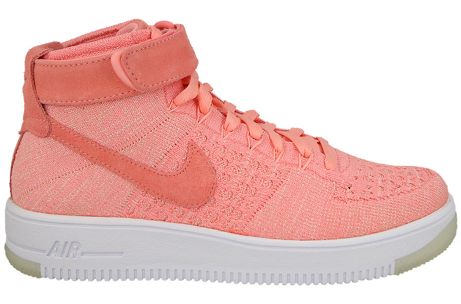 Damen Schuhe sneakers Nike Air Force 1 Flyknit 818018 802 - ROSA 6J43vhU