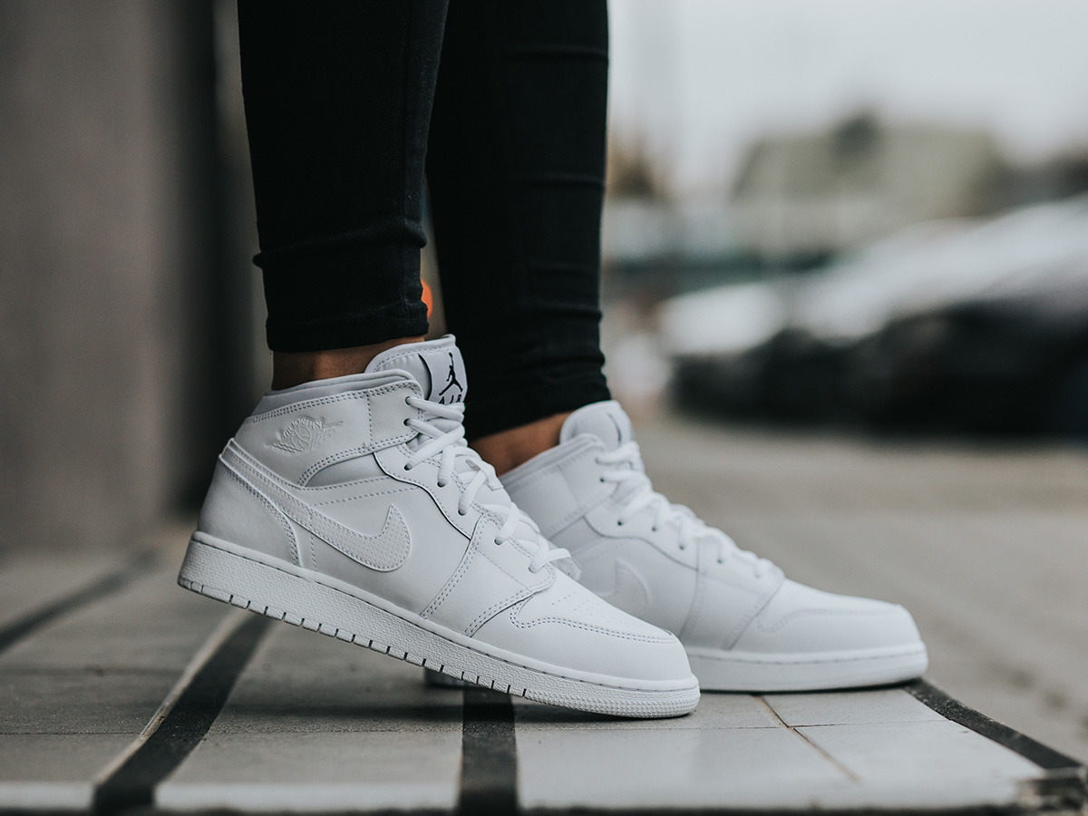 air jordan 1 mid damen
