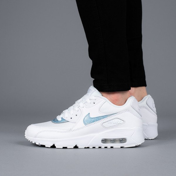 new products 6c94a aa5e1 ... Damen Schuhe sneakers Nike Air Max 90 Mesh (GS) 833418 111 ...