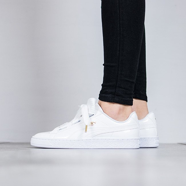 puma basket heart damen
