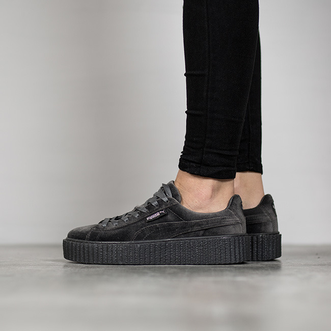 puma creeper grau damen
