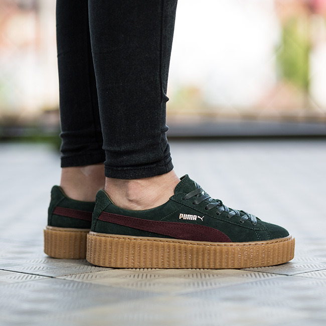 damen schuhe sneakers puma suede creepers fenty rihanna 361005 07 preis online shop. Black Bedroom Furniture Sets. Home Design Ideas