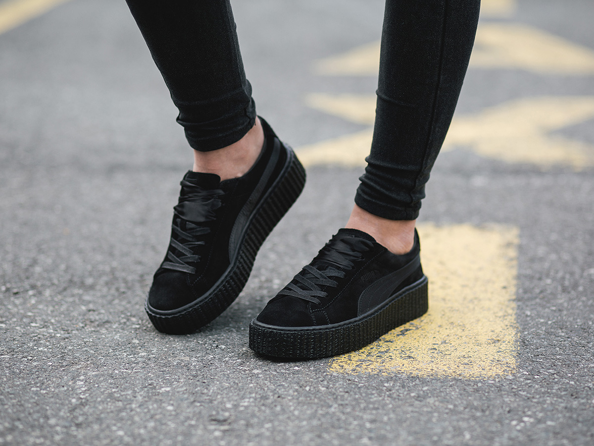 puma creeper damen schwarz