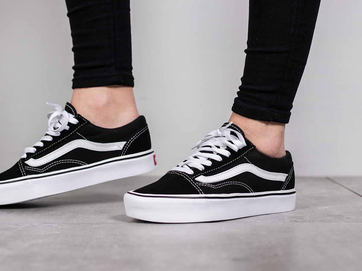 damen schuhe sneakers vans old skool lite 2z5wiju schwarz preis online shop. Black Bedroom Furniture Sets. Home Design Ideas