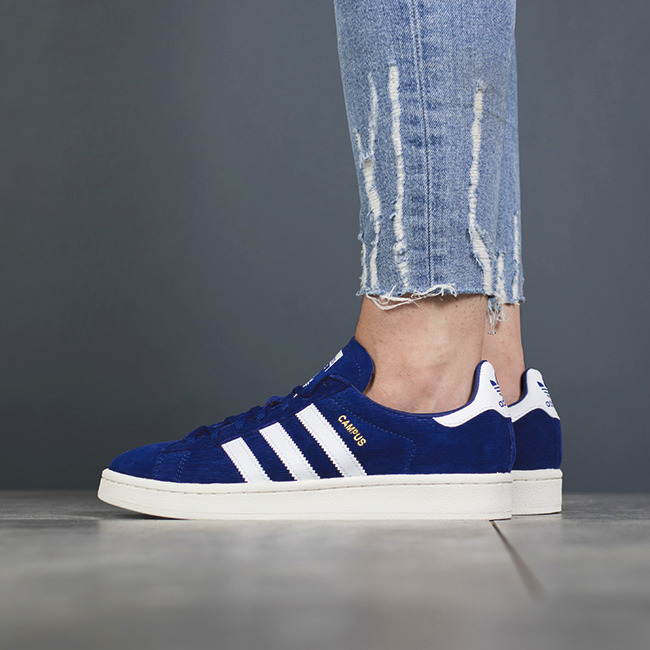 ADIDAS CAMPUS SNEAKERS Blue Womens $49.99 | PicClick