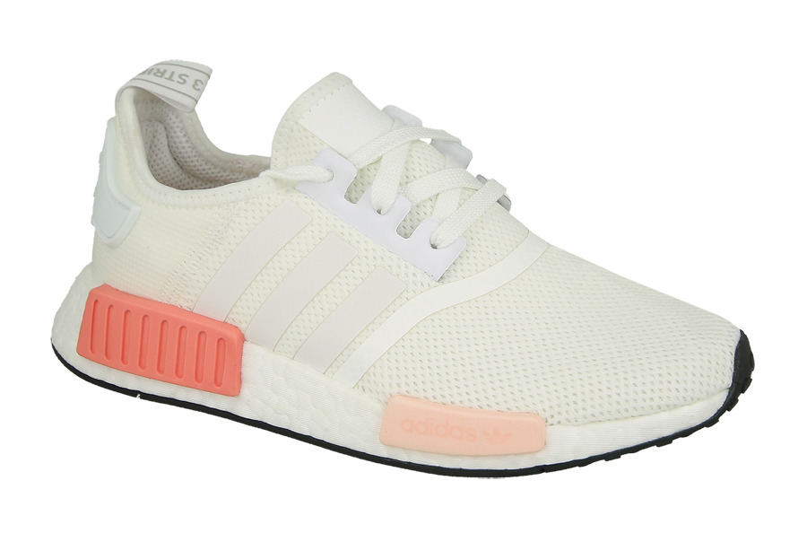damen schuhe sneakers adidas originals nmd r1 white rose. Black Bedroom Furniture Sets. Home Design Ideas