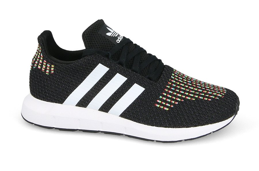 Damen Schuhe sneakers adidas Originals Swift Run W CQ2025 - Schwarz, CZARNY