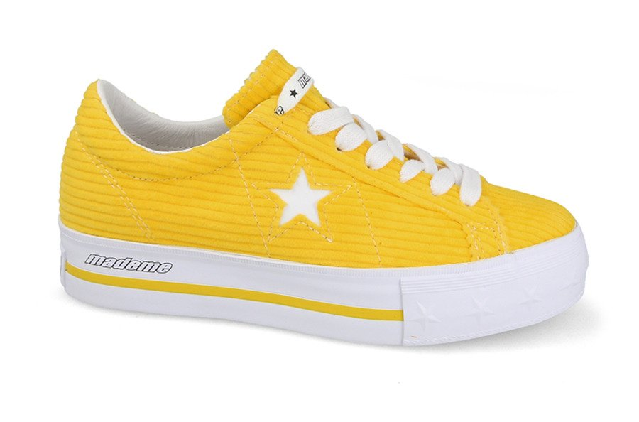 Damen schuhe sneakers Converse One Star Platform OX