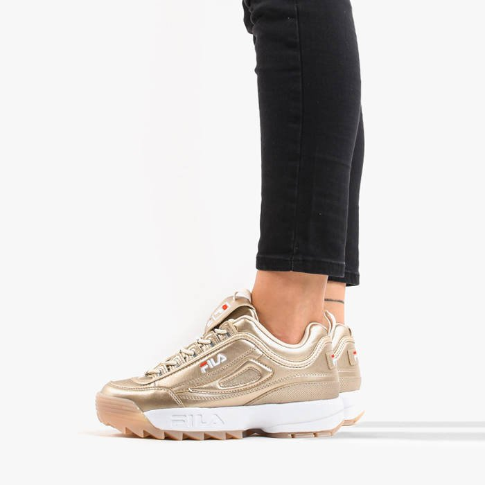 Fila Disruptor M Low WMN 1010747 80C | GOLDEN | für 74,50