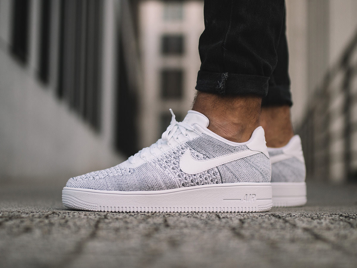 promo code 4dee3 ff7f1 france nike air force 1 flyknit low herren weiß f32ad 748b1