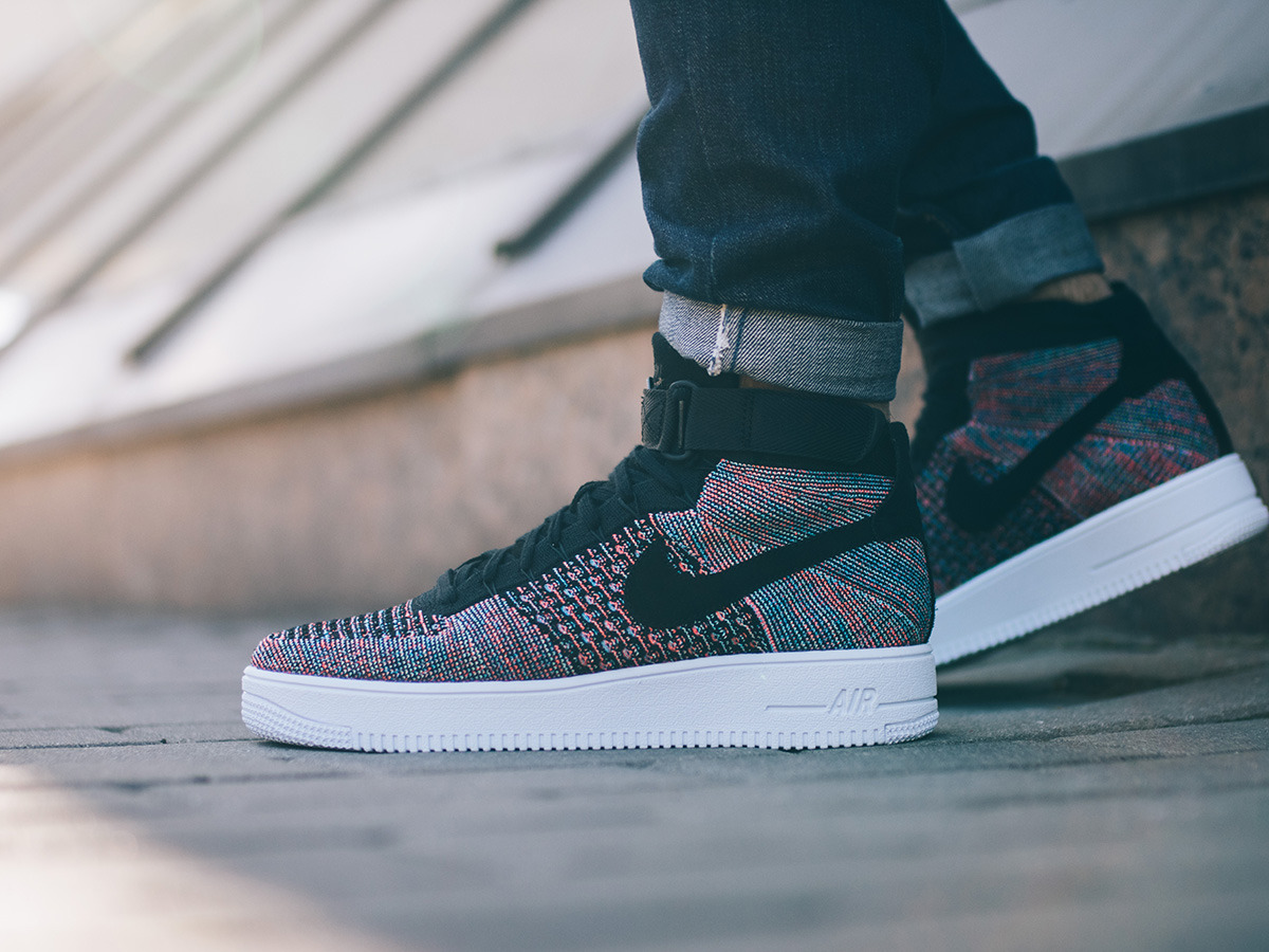 nike ultra flyknit air force 1