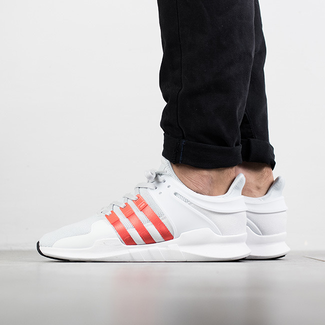 low priced 84a08 080a3 ... herren schuhe sneakers adidas originals equipment eqt support adv clear  grey bold orange by9581