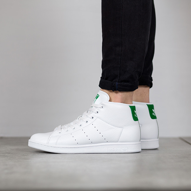 latest discount outlet on sale great deals Herren Schuhe sneakers adidas Stan Smith Mid BB0069 | WEIβ ...