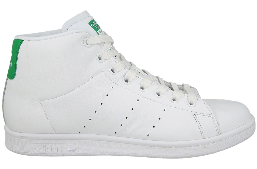 new styles 89587 15caf Herren Schuhe sneakers adidas Stan Smith Mid BB0069 | WEIβ ...