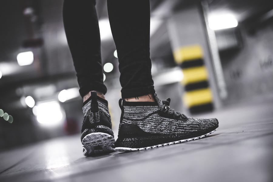 adidas ultra boost herren all black