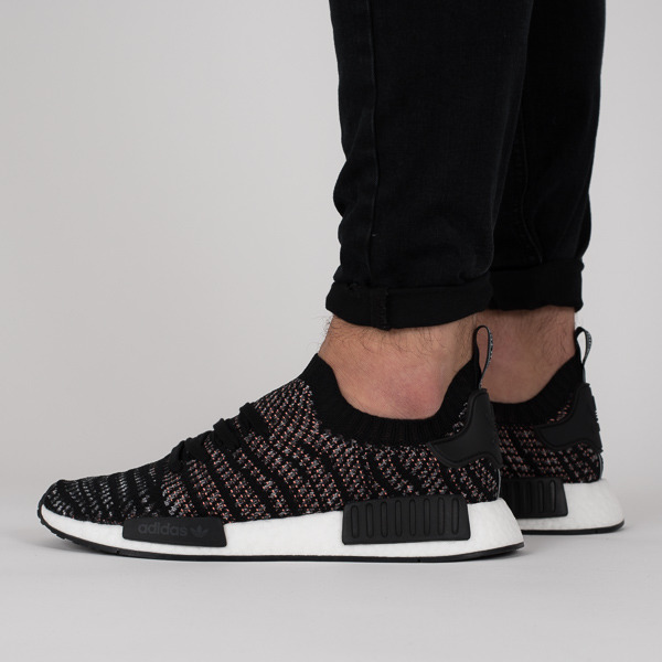 Details zu New [Adidas Originals] NMD R1 (DB3586) Black Pink, Men's Shoes Sport Sneakers