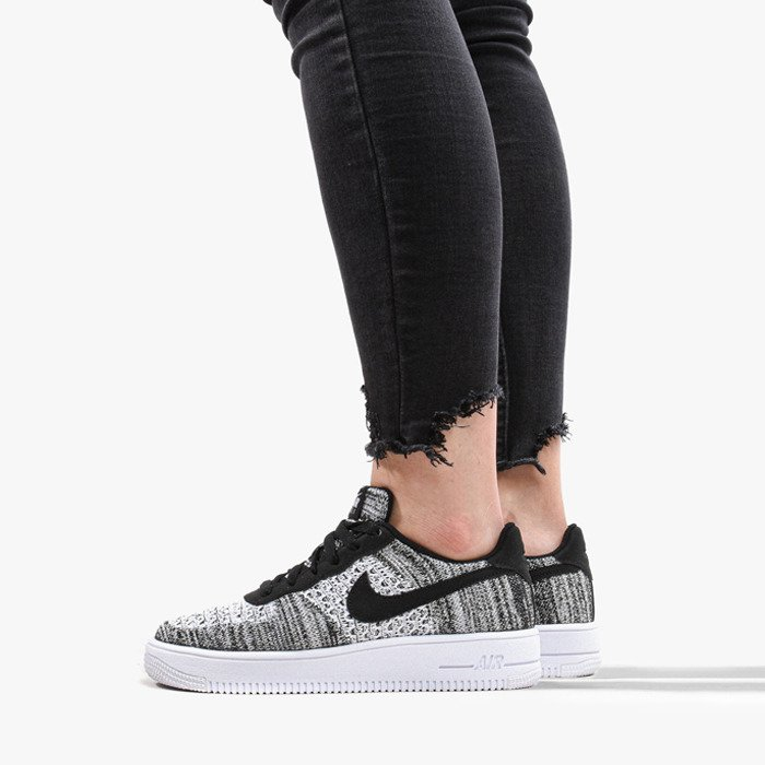 Try These Nike Air Force 1 Flyknit 2.0 Black {Mahindra Racing}