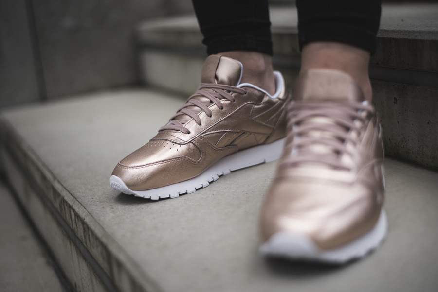 Reebok Classic Leather Melted Metal BS7897 | GOLDEN | für 49