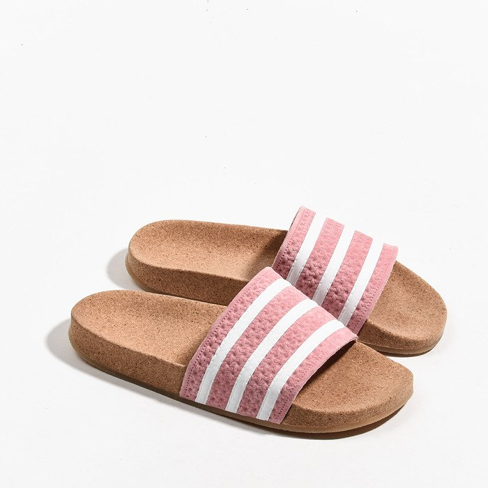 elegant shoes website for discount best selling adidas Originals Adilette Cork BC0222 | ROSA | für 34,50 ...