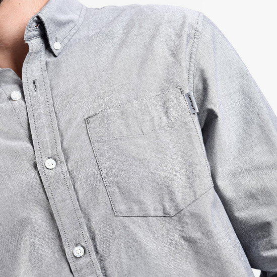 Carhartt Button Down Pocket Shirt I022069 BLACK